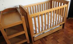 Australian quality solid wood Boori country. 1 x cot 2