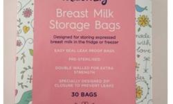 Boots Maternity Breast Milk Storage Bags, pack of 30