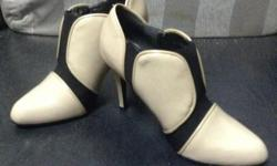 Charles & Keith booty with heels. Size 36. Wear only