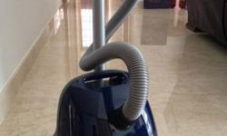 Bosch vacuum cleaner, less than 2 years, like new. paid