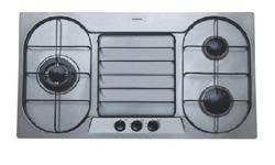 Bosch gas stove oven -3 ring model- ngt915fsg 3.5kw +