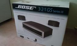 Bose 3·2·1 GS Series III DVD Home Entertainment System