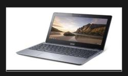 Selling a brand new acer c 720 chrome book $330 my