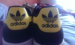 A brand new Adidas shoes has been kept on for sale for