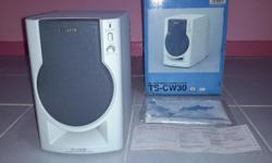 Selling a brand new AIWA TS-CW30 Active Subwoofer for