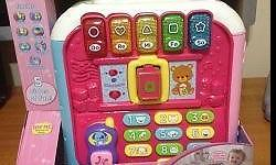 Vtech Activity Alphabet Cube toy for ages 1yr and up.