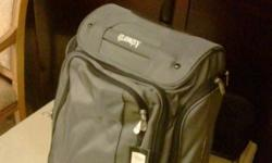 Light grey soft luggage. Brand new with tags. $180
