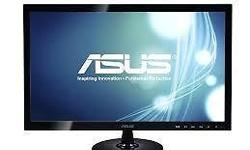 Brand new ASUS VS228D Monitor as shown in the images. 3