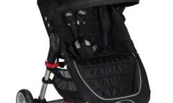 Brand new Baby Jogger City Mini black color stroller