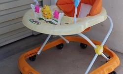 BNIB ! Baby walker ! 8 wheeled. With music . With toy .
