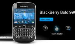 Brand New BlackBerry Bold 9900 - Charcoal Black. Still