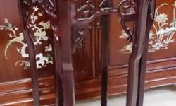 Brand New Blackwood Flower Stand (大红�����for sale, One