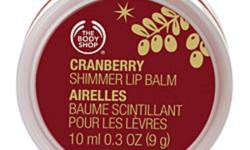 Have 1 brand new body shop cranberry shimmer lip palm