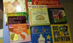 A very good collection of Toddler's books. It ranges