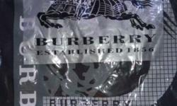 Brand New BURBERRY Brit T-shirt Color: Black LARGE
