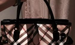 Brand new Burberry Nova Diaper Bag. Selling at $550,