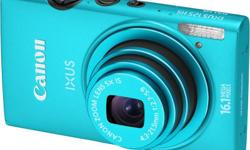 Brand New Canon IXUS 125 HS Blue camera. With 1 year