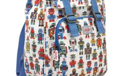 Original Cath Kidston Robots Backpack - Front zip