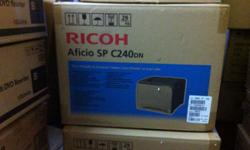 RICOH Aficio SP C240dn COLOR LASER PRINTER Brand new