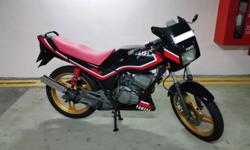Selling my fully done-up Yamaha RXZ. To date I have