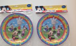 Letting go unused Mickey Mouse party decorations: 8