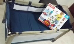 Brand New Fisher Price walker to wagon Used Playpen