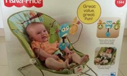 Brand new Fisherprice rocker chair at only $70.
