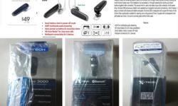 Brand New I-TECH Bluetooth Headset, Myvoice 3000 Retail