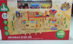 Brand New in Box ELC Wooden Train Set For Sale.