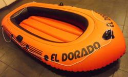 I have a 8.5 ft long inflatable boat for sale. Width