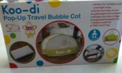 BRAND NEW STILL IN BOXES   KOO-DI POP UP TRAVEL BUBBLE