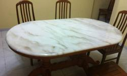 Dear All, I have this brand new marble table top for
