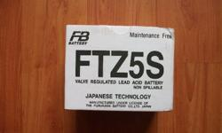 Brand New Motorbike battery 12V 3.7AH for sale at 35
