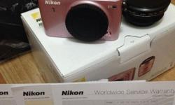 Brand new Nikon 1 S1 - Double Zoom Kit (10-30mm and