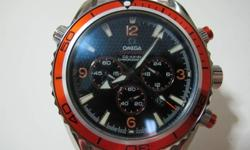 Grade AAA Omega Seamaster. Only one piece. SMS