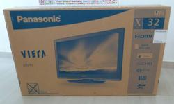 "as shown in unopen box, model: TH-L32X30S, 32"" LCD with"