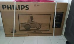 Philips 32 inch LED TV - brand new - 4600 series - 1 yr