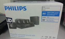 I have one brand new Philips 5.1 Home Theater (Model