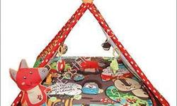 Never used, excellent condition play tent. Suitable