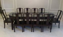 Brand New Rosewood Oval shape Dining set for sale, come