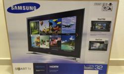 I have a brand new Samsung 32 inch LED smart TV