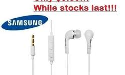 Brand New Samsung Earphone with Microphone and Volume