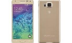 hello selling Brand New Samsung galaxy Alpha colour: