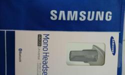 Brand New Samsung Mono Headset (Universal) for sales at