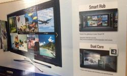 "Brand new 40"" Samsung Smart TV HDMI for sale."