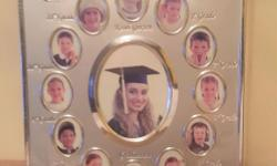 Brand NEW*** School Years Table Top photo holder frame