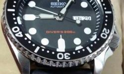 Selling a set of brand new seiko diver watch. With full