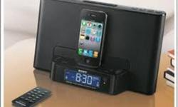 Sony iPod and iPhone Dock Clock Radio - BRAND NEW IN