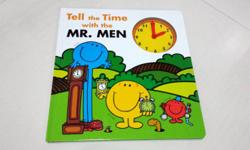 "Brand New ""Tell the Time with the Mr. Men"" Book is up"