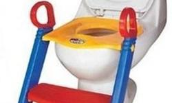 1) Brand new toddler's folding training toilet seat
